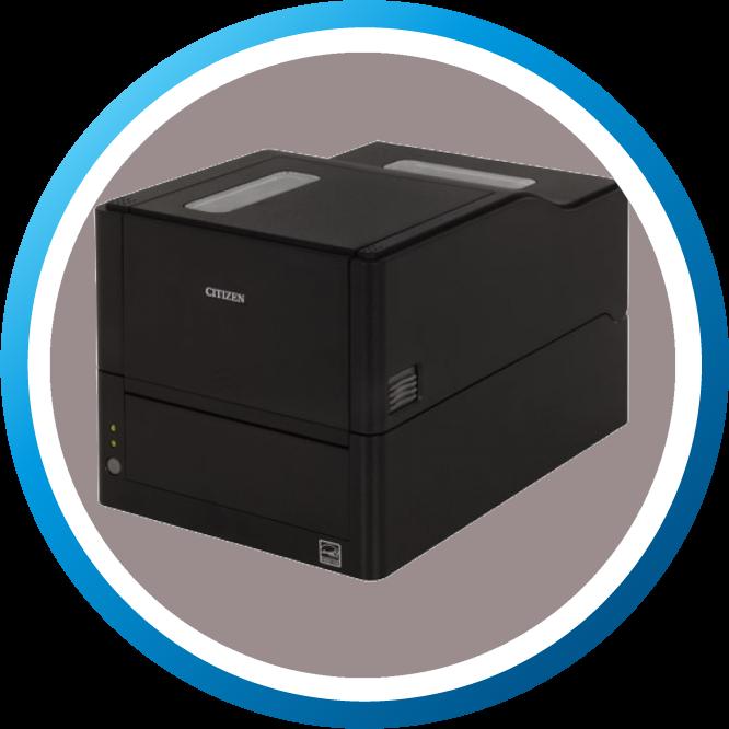 מדפסת מדבקות שולחנית CLE321 גדול