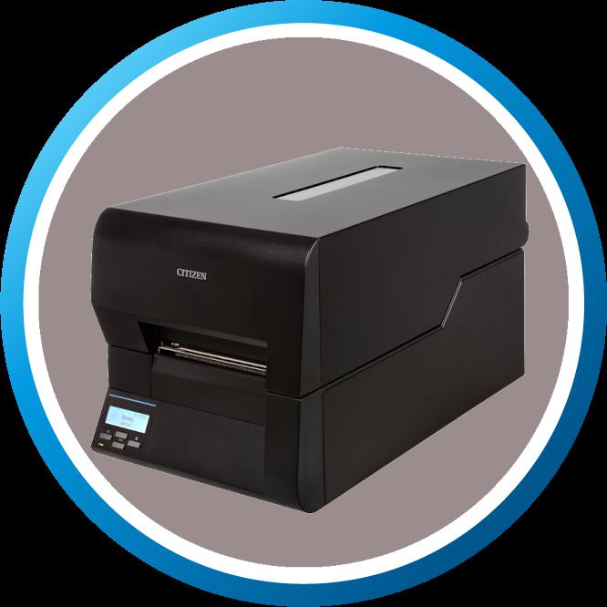 מדפסת מדבקות תעשייתית CLE720 גדול