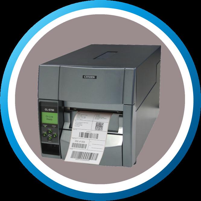 מדפסת מדבקות תעשייתית CLS700