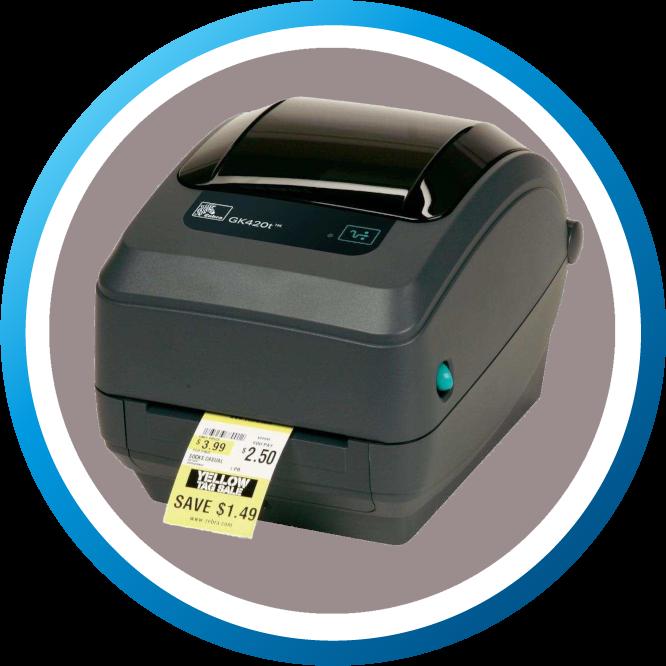 מדפסת מדבקות GK420T גדול