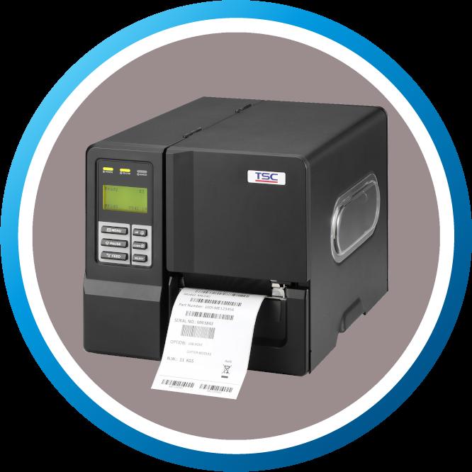 מדפסת מדבקות תעשייתית ME240