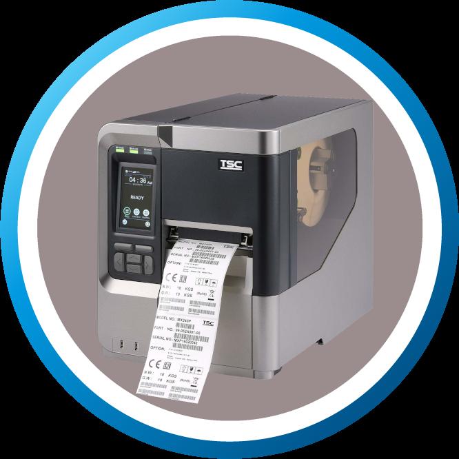 מדפסת מדבקות MX240P