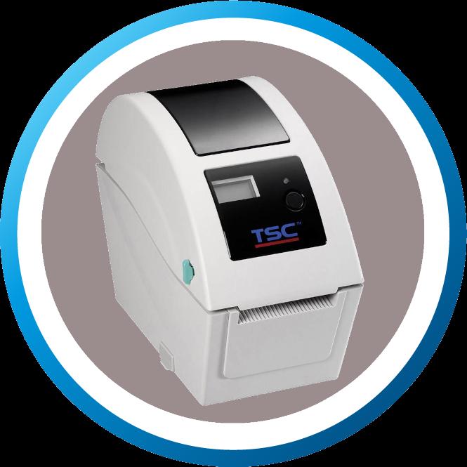 מדפסת מדבקות TDP225
