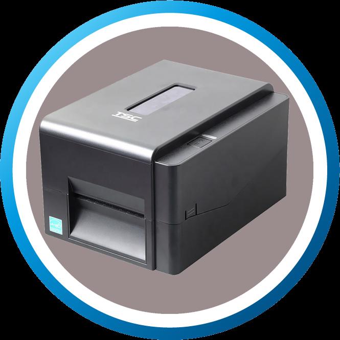 מדפסת מדבקות שולחנית TE210