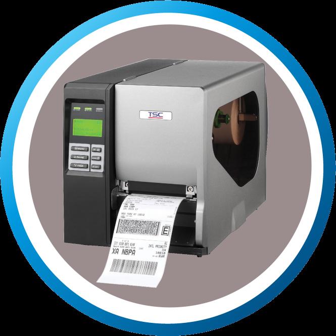 מדפסת מדבקות TTP2410