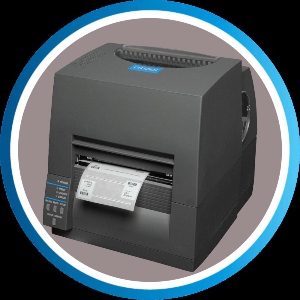 מדפסת מדבקות שולחנית CLS631