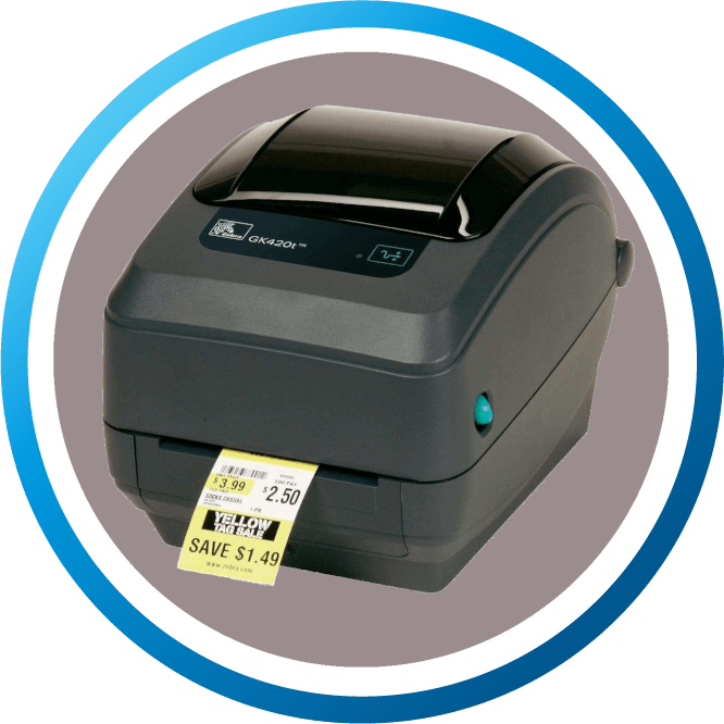 מדפסת מדבקות שולחנית GK420T