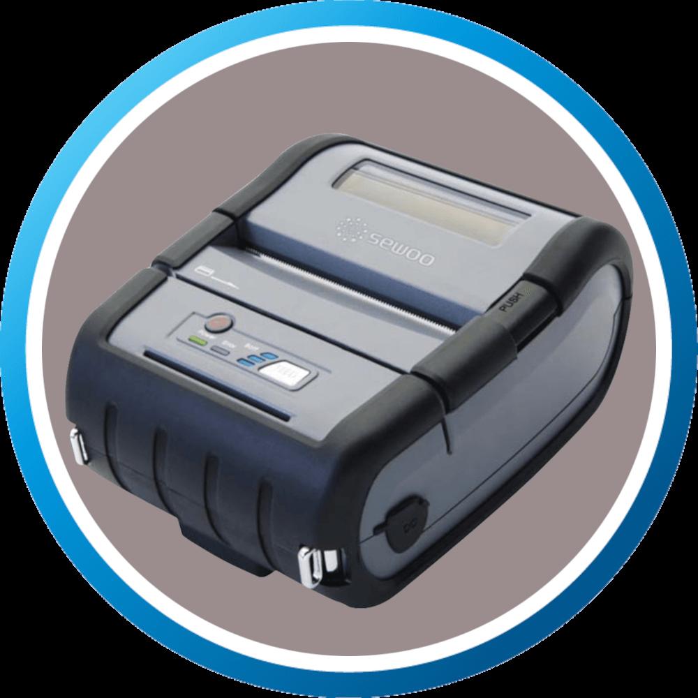 מדפסת מדבקות ניידת מוקשחת LKP30