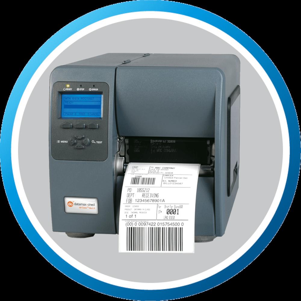 מדפסת מדבקות תעשייתית MCLASS MARK II