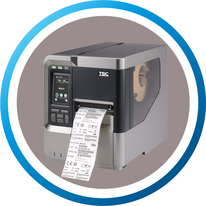 מדפסת מדבקות תעשייתית ML240P