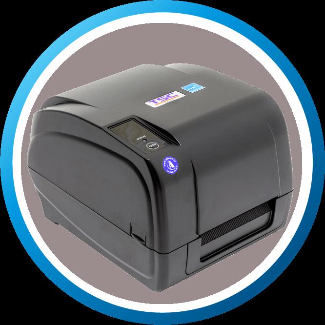 מדפסת מדבקות שולחנית TA210