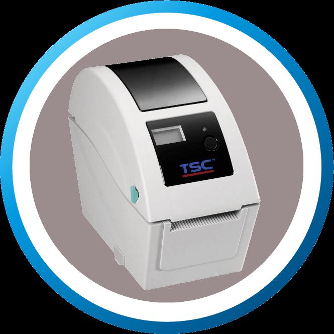 מדפסת מדבקות שולחנית TDP225