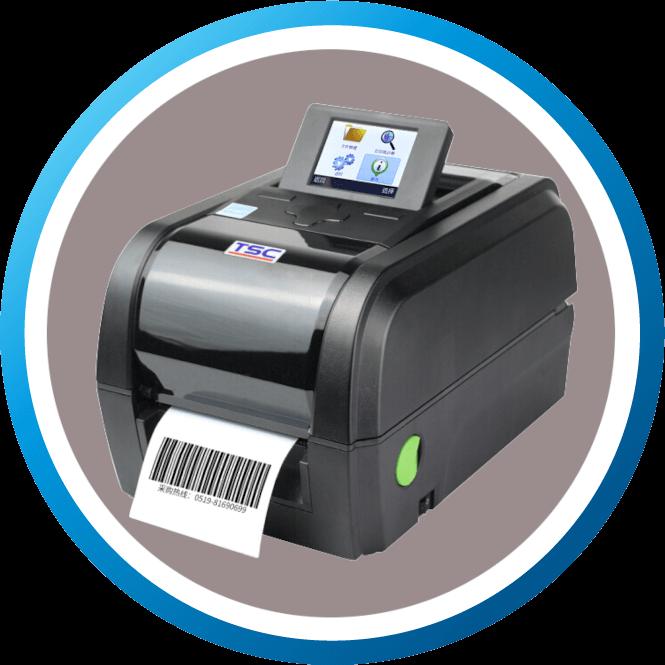 מדפסת מדבקות שולחנית TX600