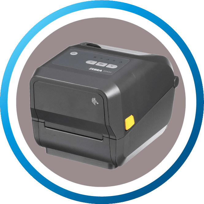 מדפסת מדבקות שולחנית ZD420T