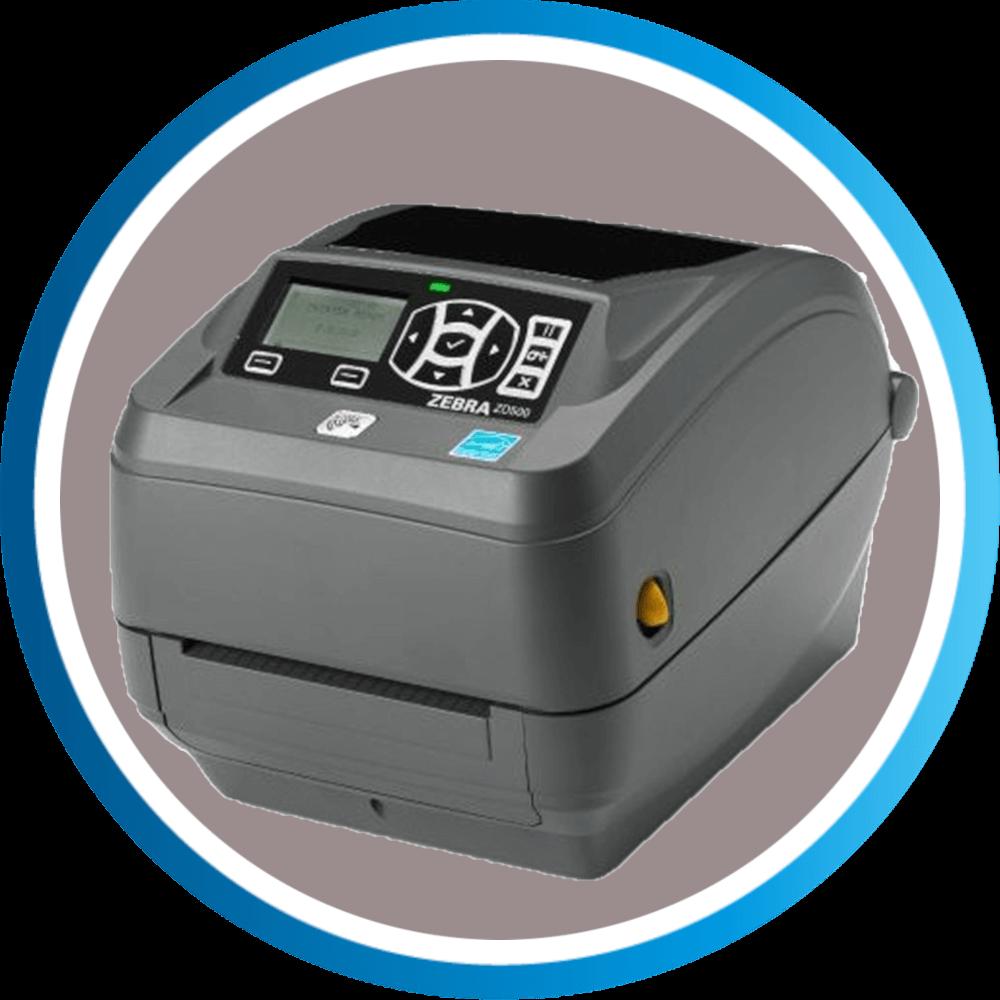 מדפסת מדבקות ZD500