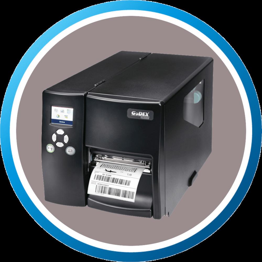 מדפסת מדבקות תעשייתית EZ2250