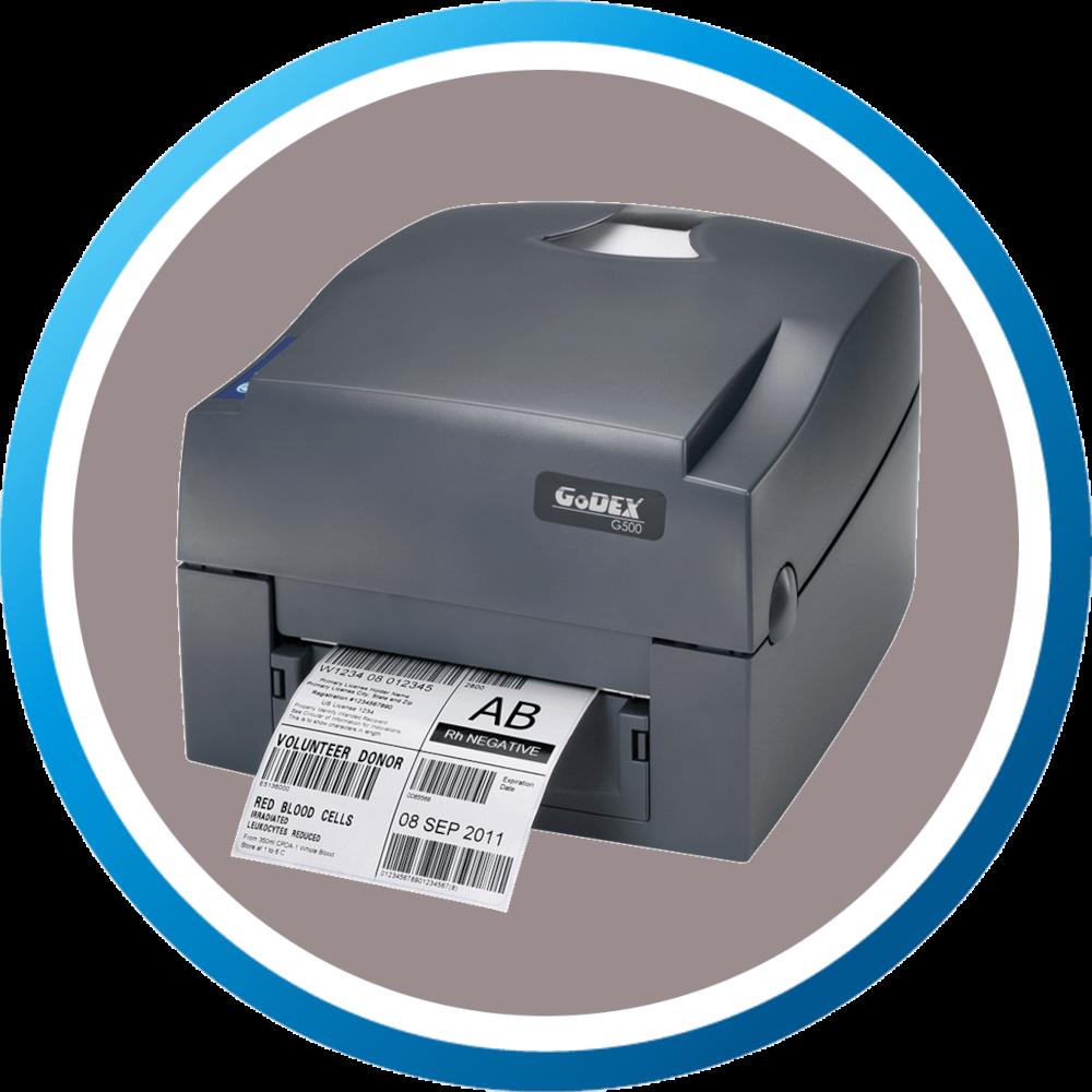 מדפסת מדבקות שולחנית TG500