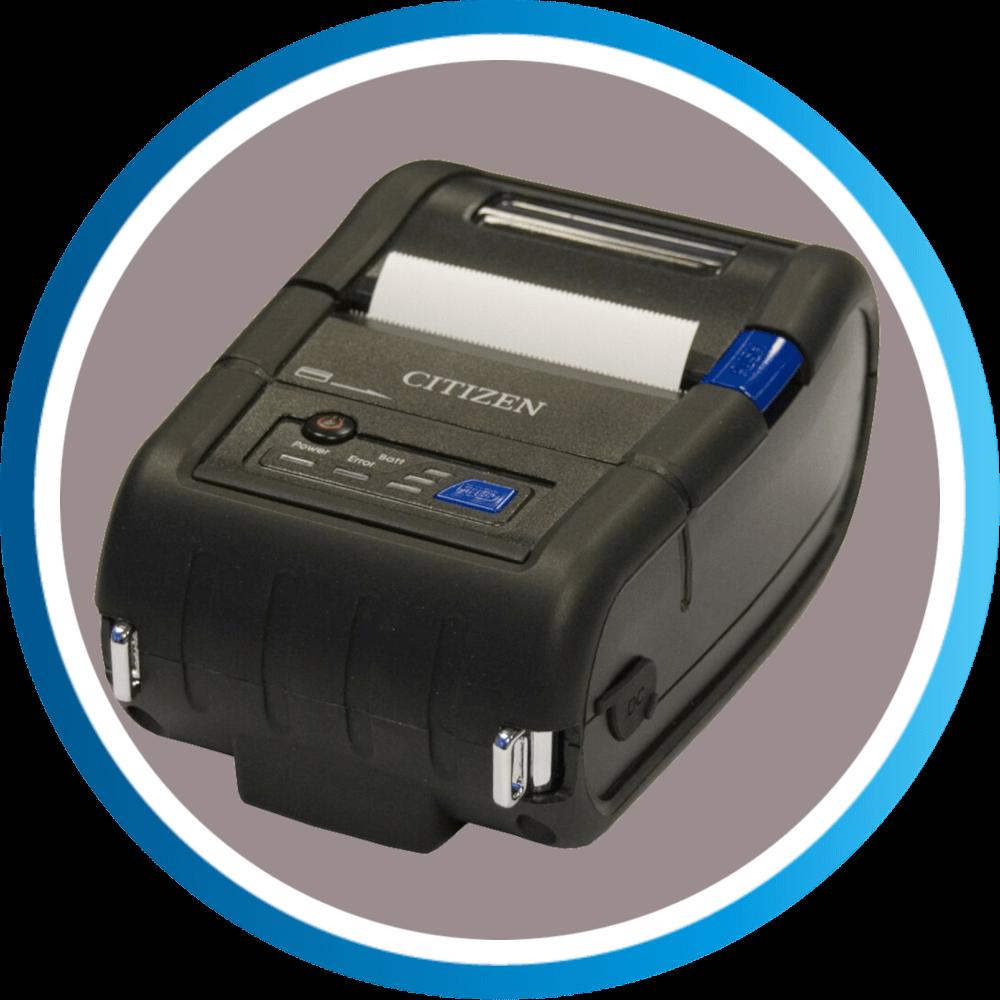 מדפסת מדבקות ניידת CMP20II