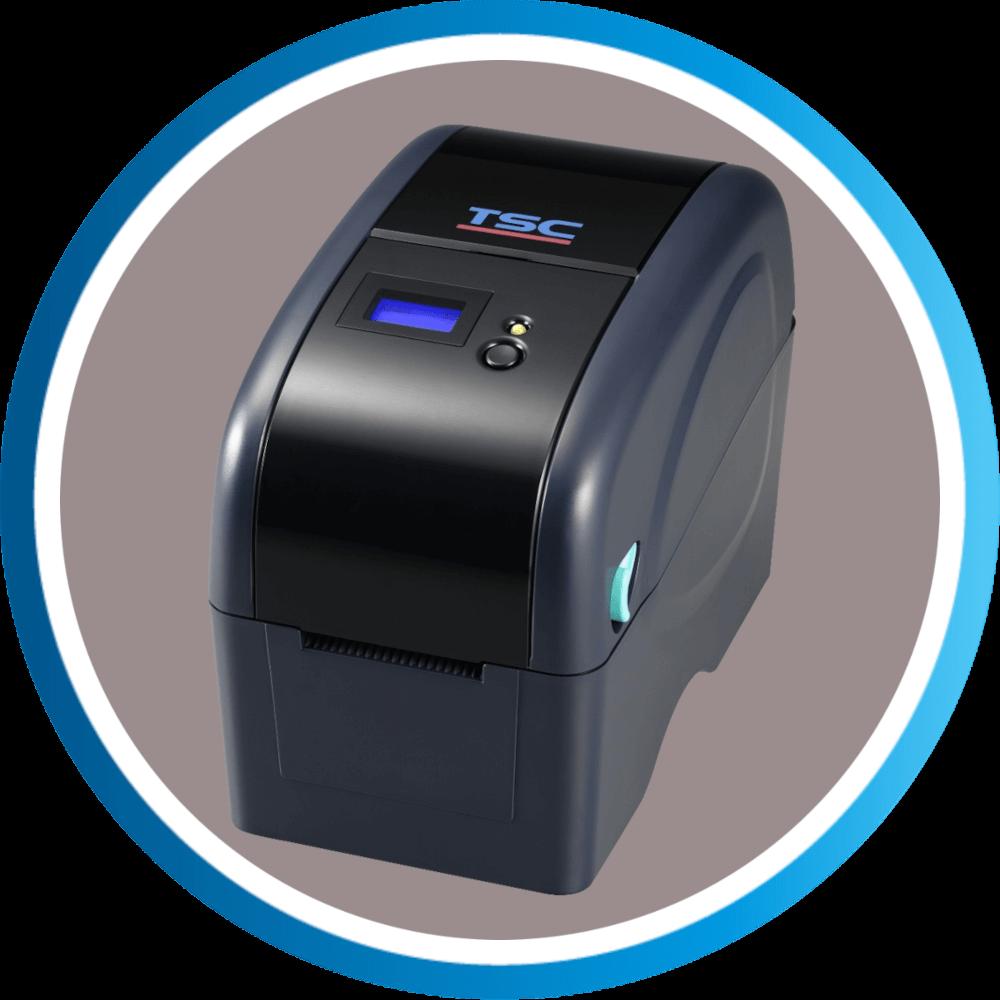 מדפסת מדבקות שולחנית TTP225