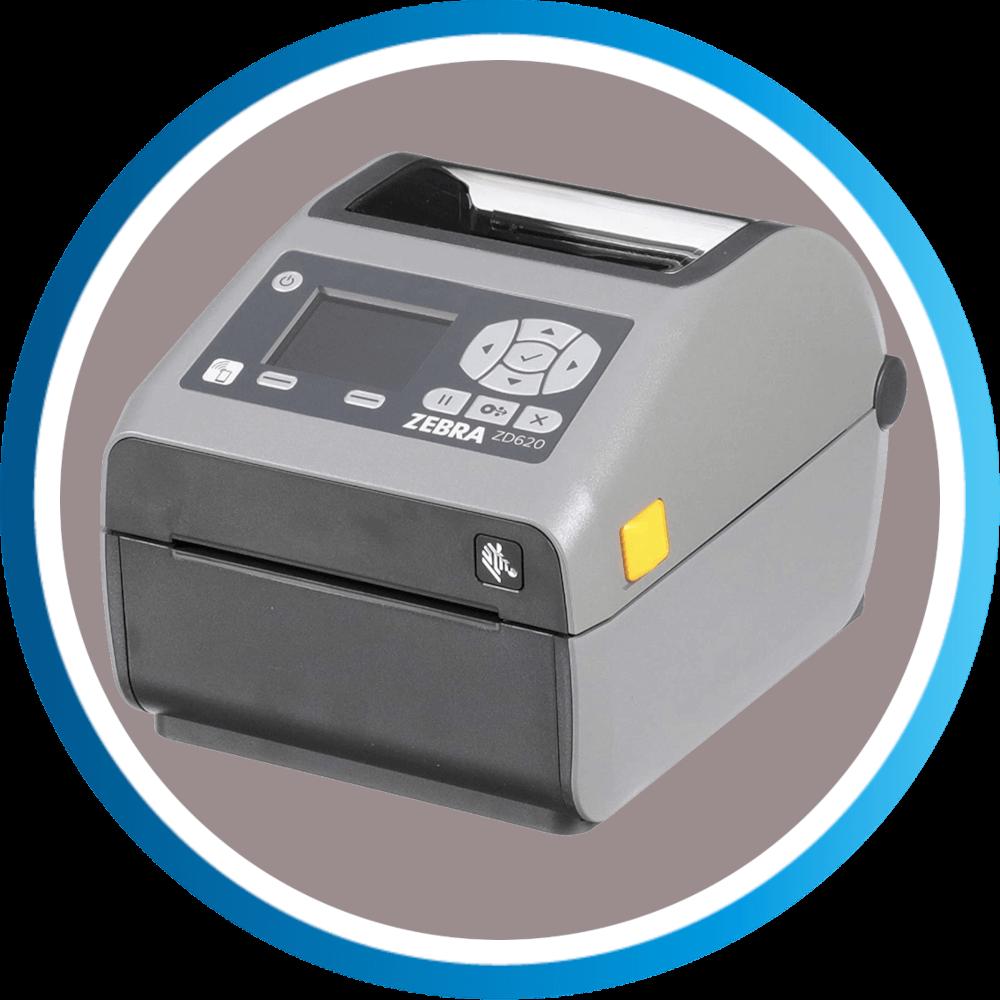 מדפסת מדבקות ZD620D