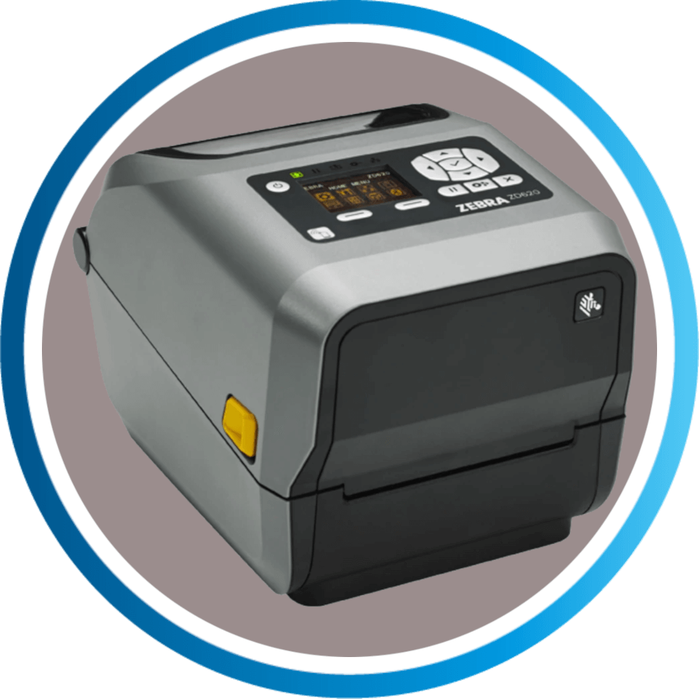 מדפסת מדבקות ZD620T