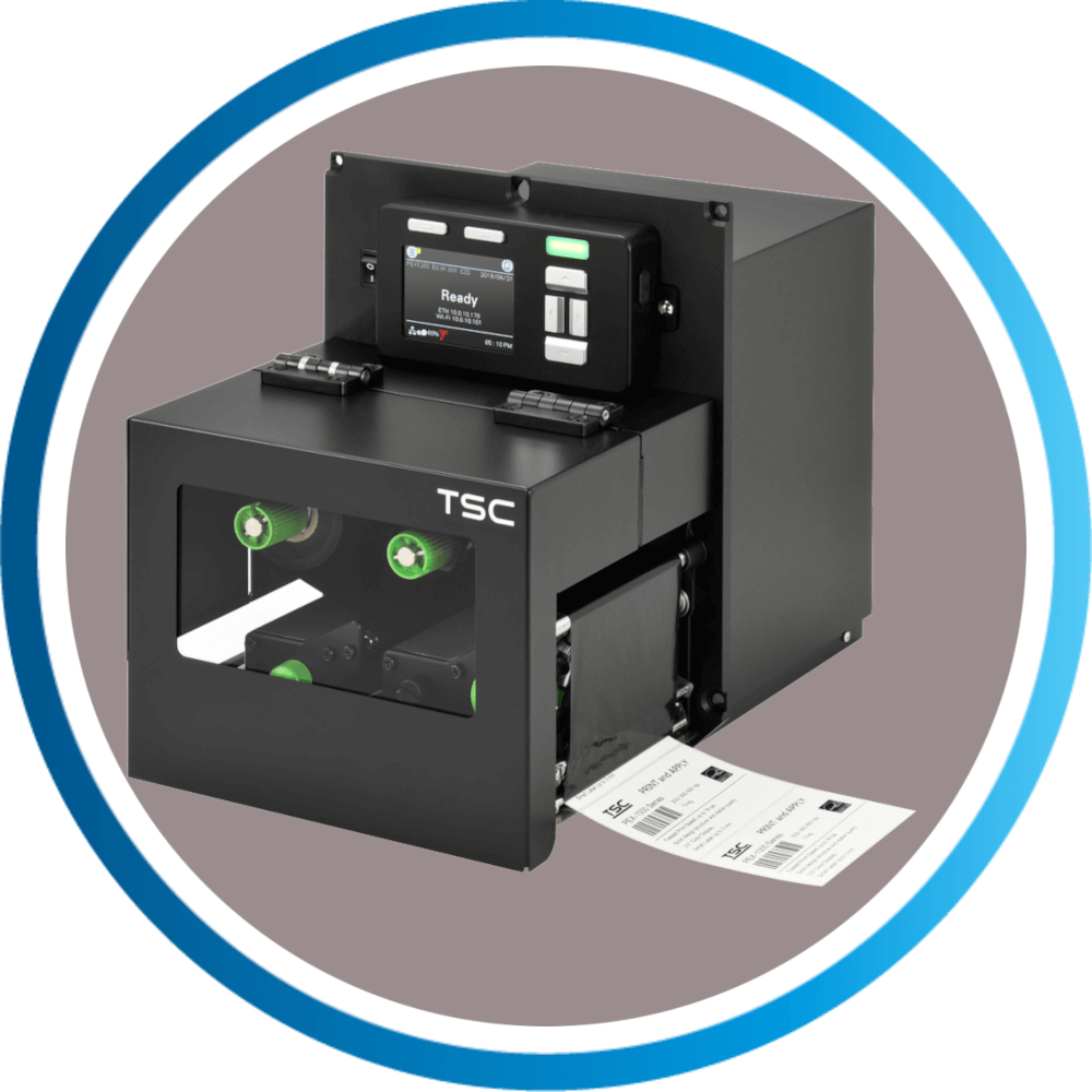 מדפסת מדבקות תעשייתית PEX1000