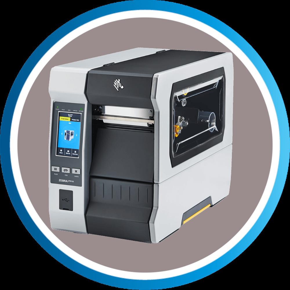 מדפסת מדבקות ZT610